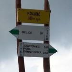 na zdjęciu szczyt Kowadło