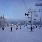 Na zdjęciu trasa narciarska w Zieleńcu