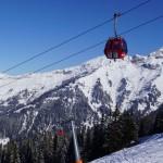 na zdjęciu gondola Dorfgastein