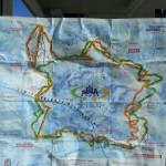 Mapa tras Sella Ronda
