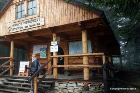 Kasa, informacja turystyczna i izba przyrodnicza Babiogórskiego Parku Narodowego