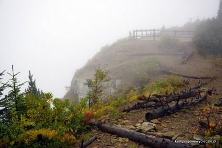 Sokolica 1367 m n.p.m Babiogórski Park Narodowy