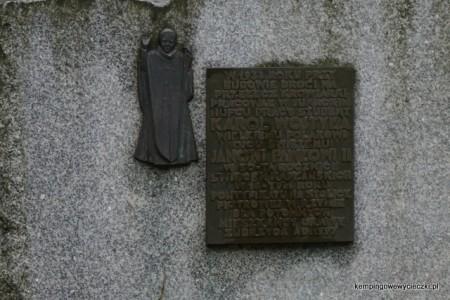 Pamiątkowa tablica od mieszkańców Orawy