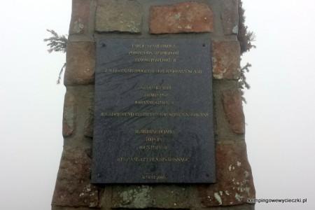 Pomnik na Babiej Górze