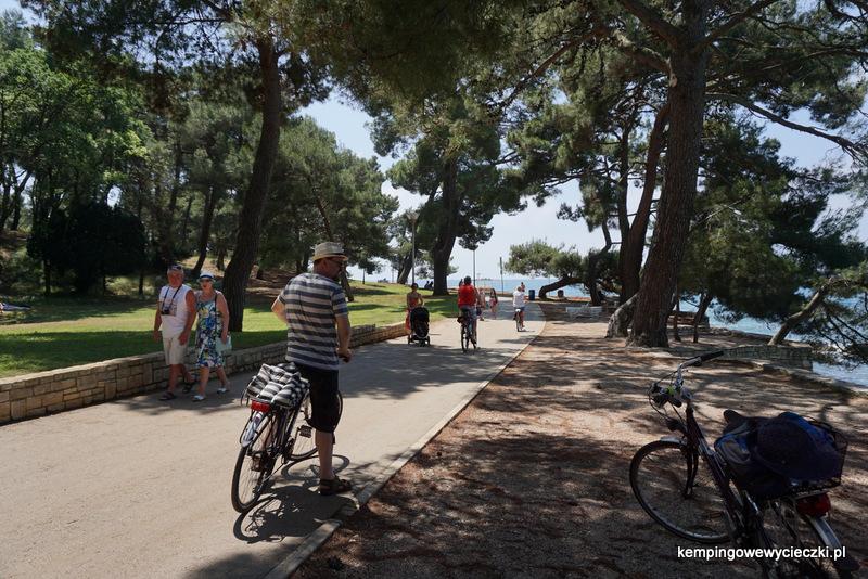ścieżki rowerowe w Chorwacji