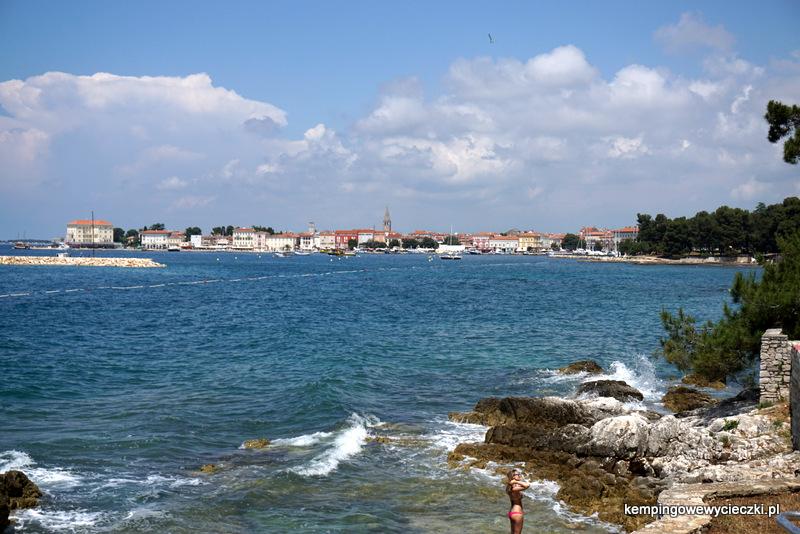 Poreć miasto na połwyspie Istria