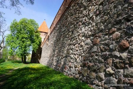 zachodnie skrzydło zamku