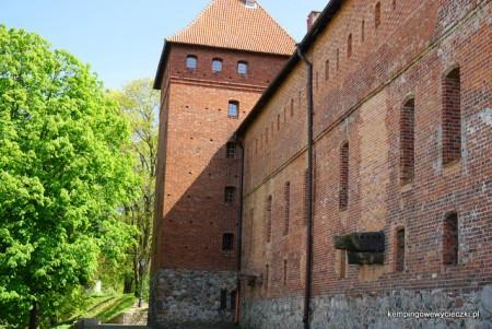 zamek Bytów ściana północna