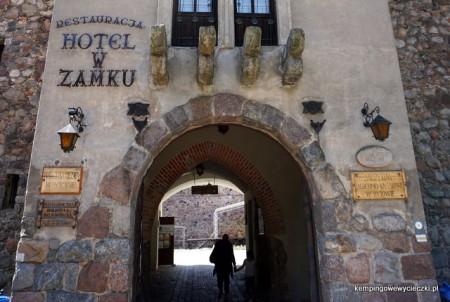 główna brama zamkowa