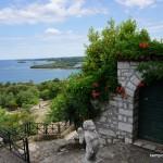 na zdjęciu wybrzeże na półwyspie Istria w Chorwacji, miejscowość Vrsar