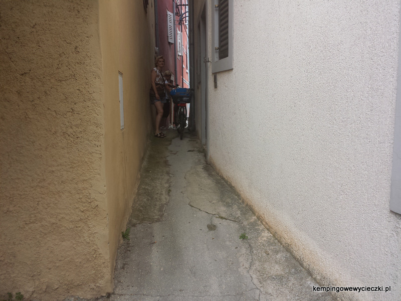 Vrsar labirynt uliczek bez wyjścia