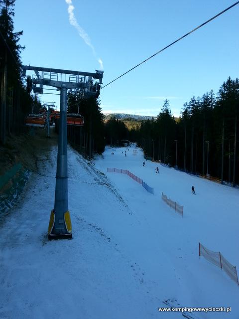 Karpacz trasa narciarska Bialy Jar