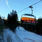 Trasa narciarska w Białym Jarze