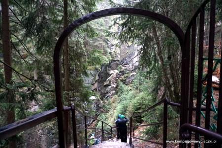Wodospad Kamieńczyk - zejście