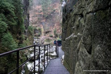 Wodospad Kamieńczyk trasa