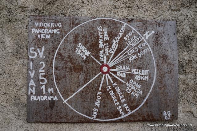 Na ścianie kapliczki Świętego Iwana