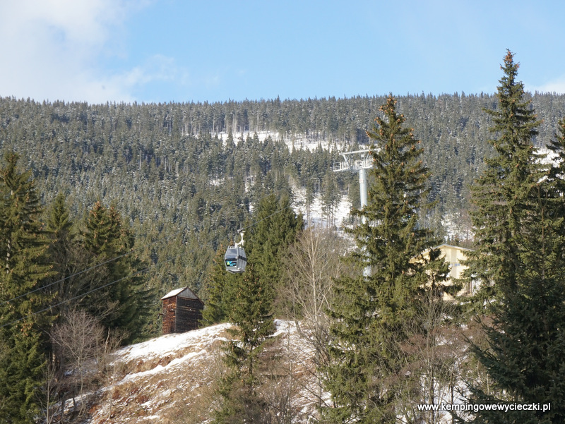 gondola na Śnieżkę