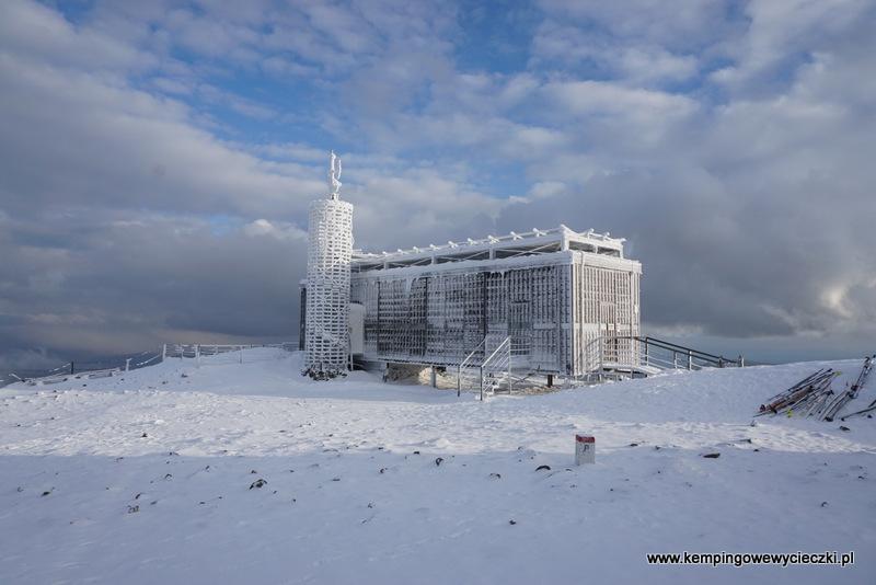 na szczycie Śnieżki