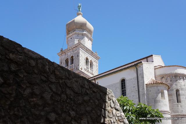 Dzwonnica katedralna w Krk