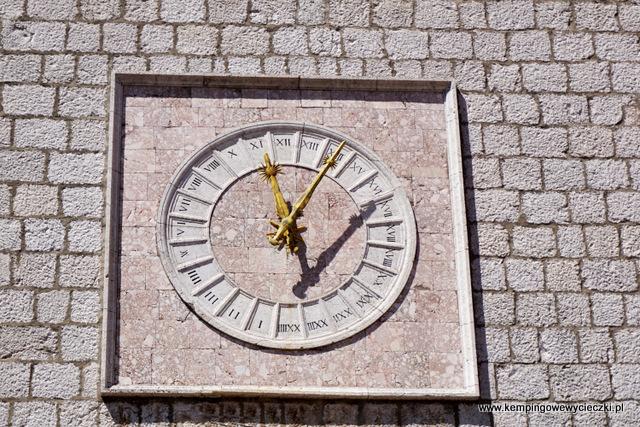 zegar z Krk o 24 polach