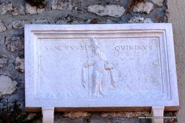Patron Krk Swięty Quirinus