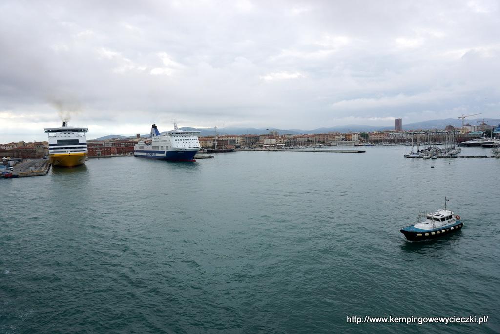 port w Livorno