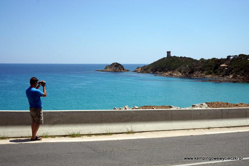 Wieża genueńska w Fautea Corsica
