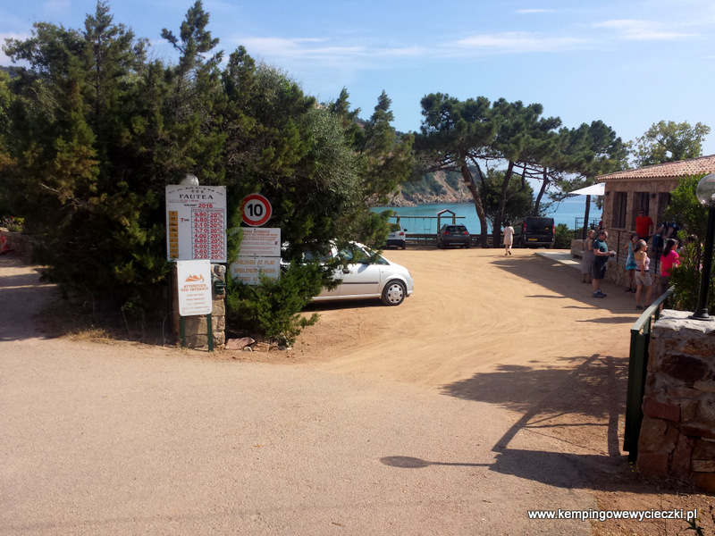Camping Fautea Korsyka