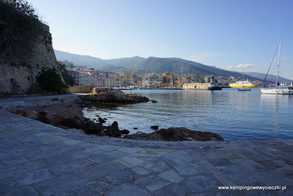 Stary port w Bastii