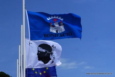 Flagi Bonifacio i Korsyki