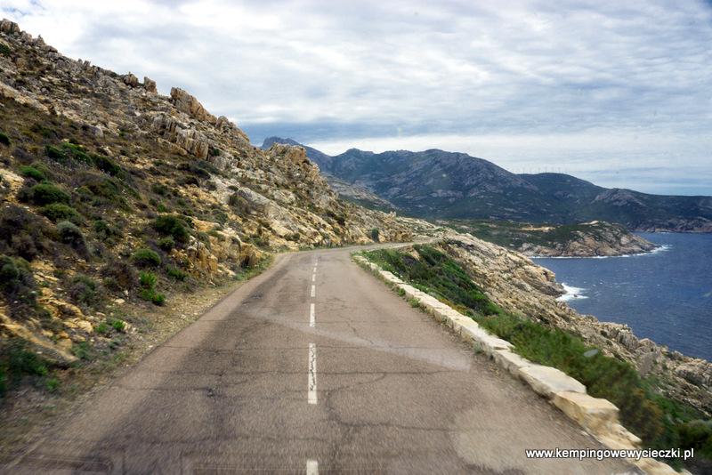 piękna i niebezpieczna droga na Korsyce
