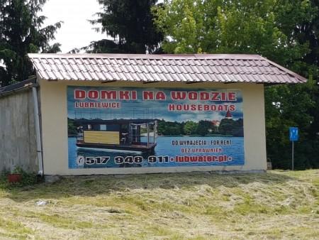 atrakcja Lubniewic wypożyczalnia domków na wodzi