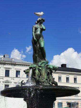 Helsinki pomnik syreny