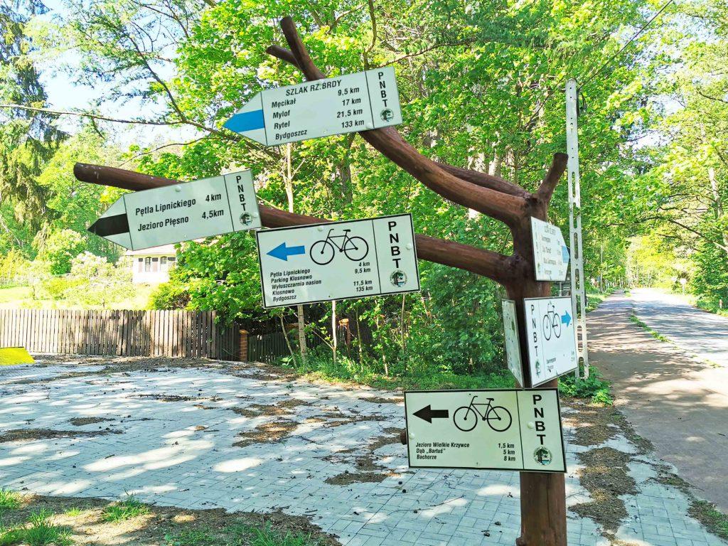 Kaszubska Marszruta trasy Rowerowe i piesze