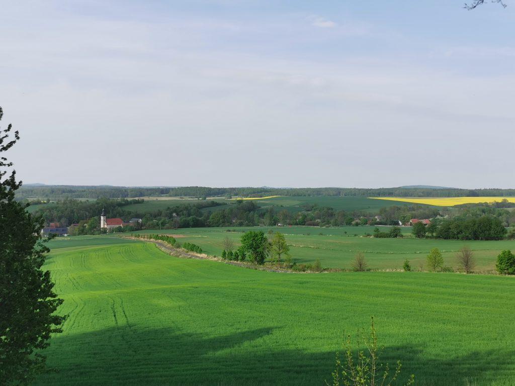 Dobków panorama