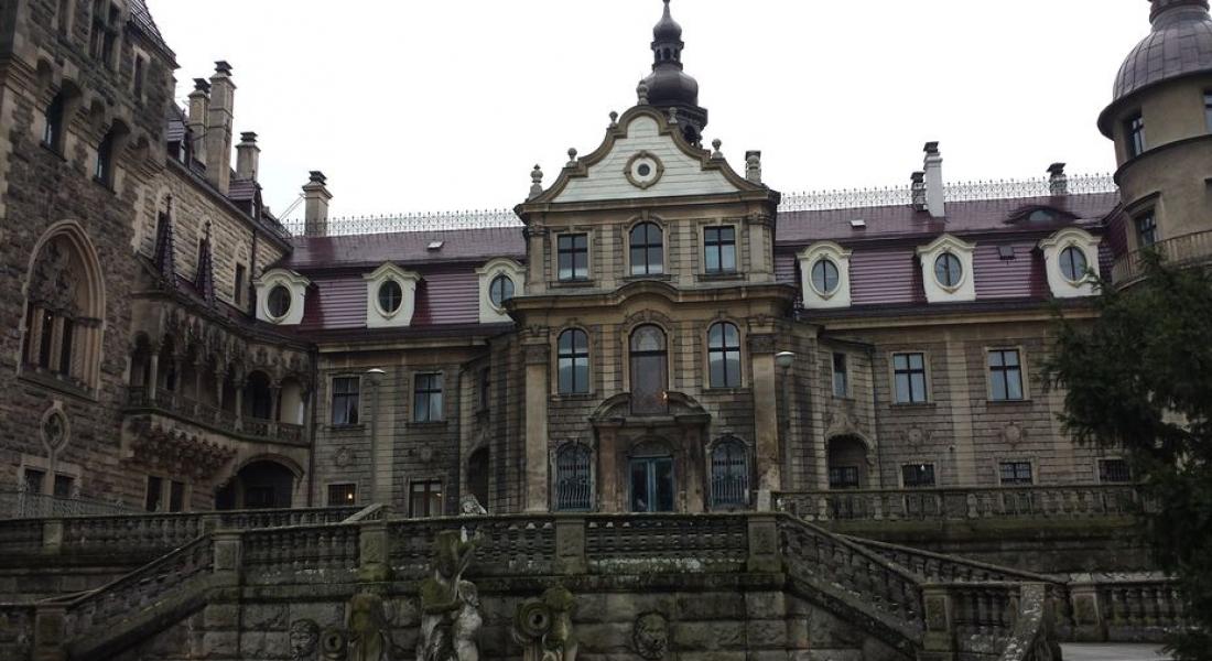 Zamek w Mosznie