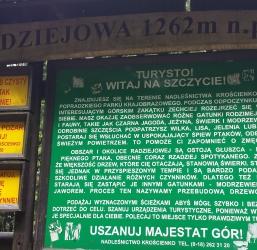 Radziejowa 1262 m n.p.m. z Obidzy najwyższe szczyty gór w Polsce 7/28