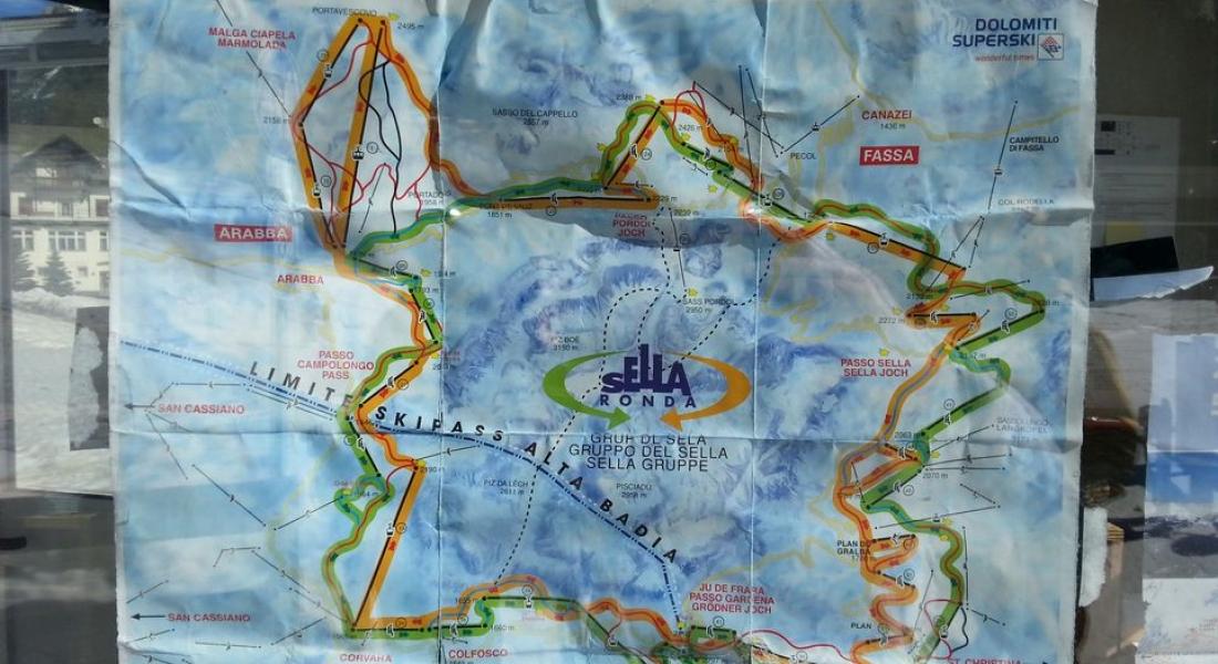 Sella Ronda wyjazd na narty