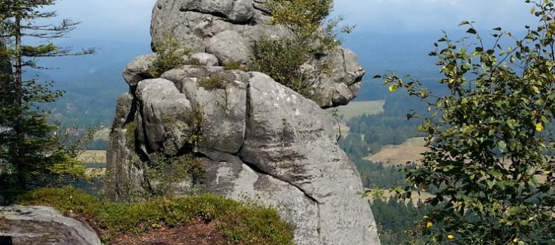 Szczeliniec Wielki 919 m n.p.m. Góry Stołowe 10/28